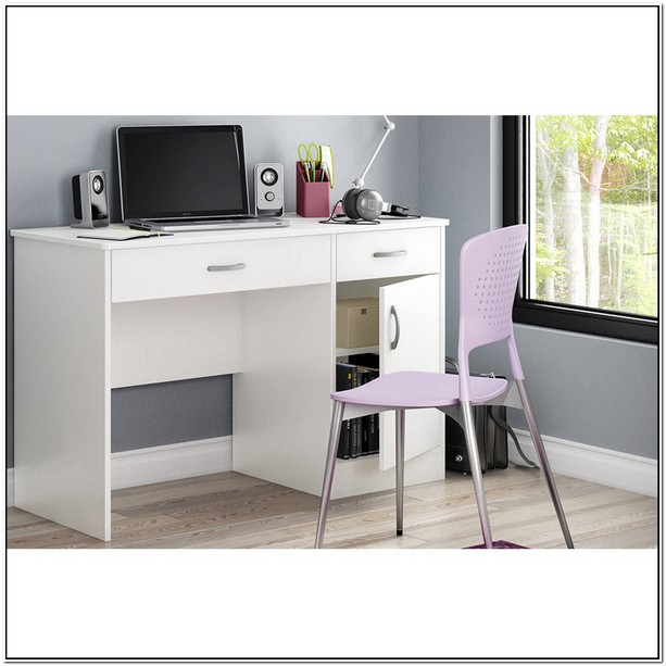 White Study Table Walmart