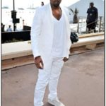 All White Jean Jacket Mens