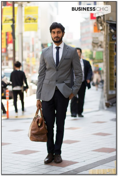 Black Dress Pants With Grey Suit Jacket