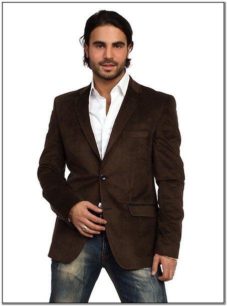 Brown Sport Jacket With Jeans