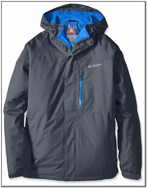 Columbia Mens Alpine Action Jacket Black