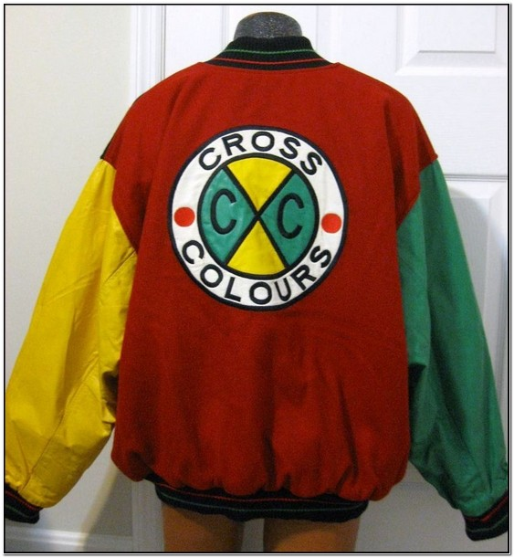 Cross Colors Leather Jacket