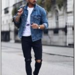 Denim Jacket Outfit Men