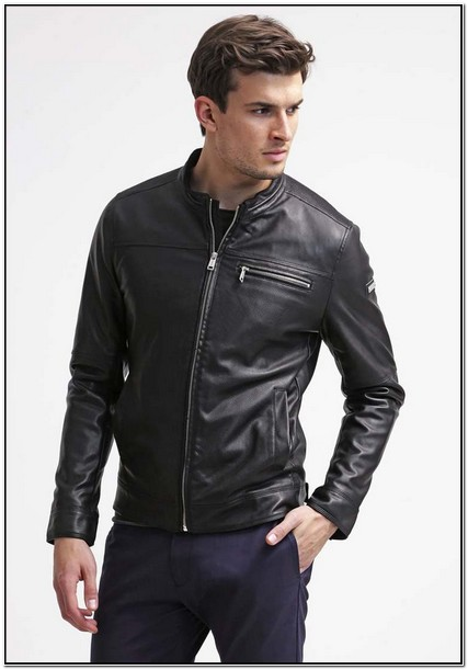 Guess Leather Jacket Mens Price
