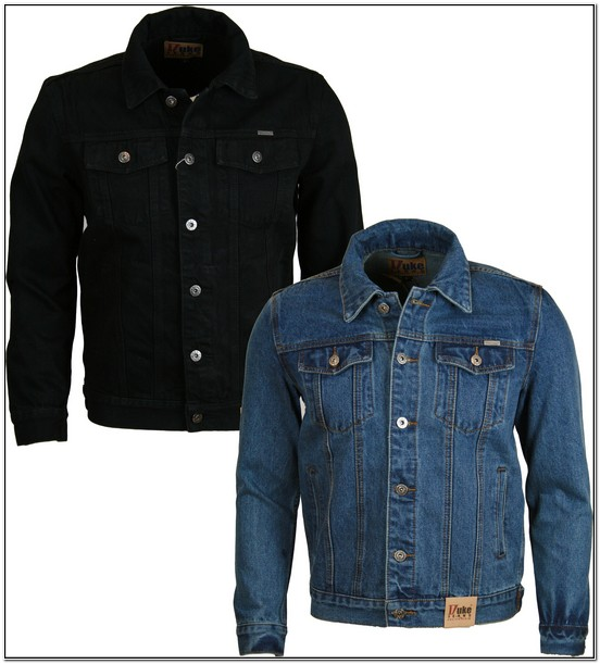 H & M India Denim Jacket Mens