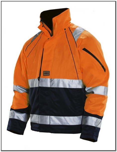 High Visibility Winter Work Jackets