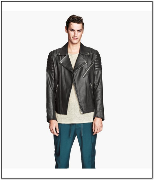 H&m Leather Jacket Mens