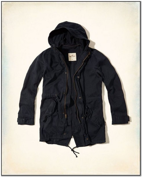 Hollister Mens Jacket Outerwear Tarmac