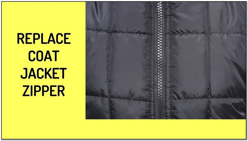 Jacket Zipper Replacement Cost