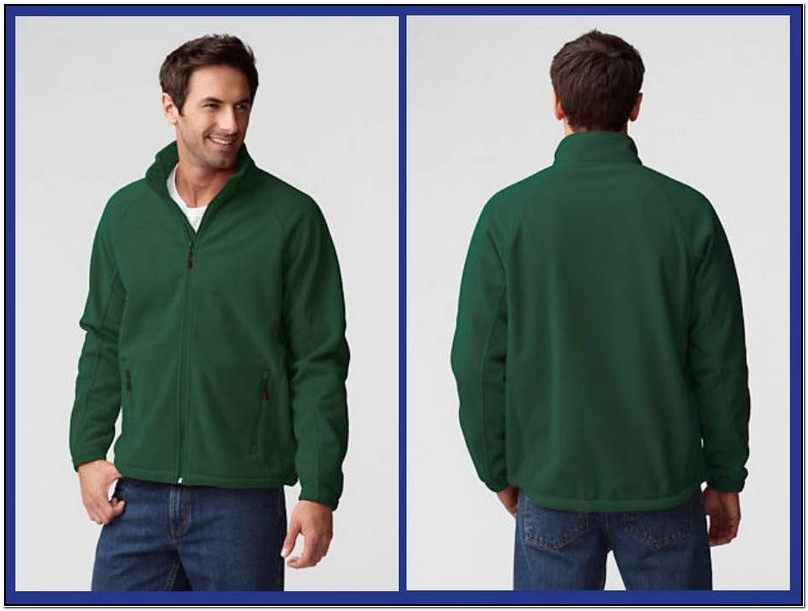 Lands End Mens Fleece Jackets