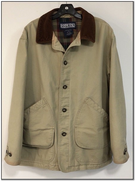 Mens Barn Jacket Removable Liner