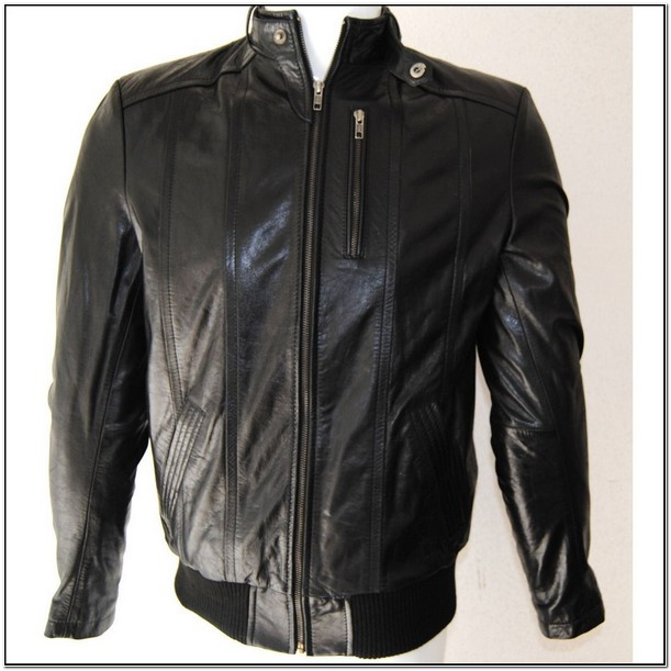 Mens Leather Bomber Jackets Kohls