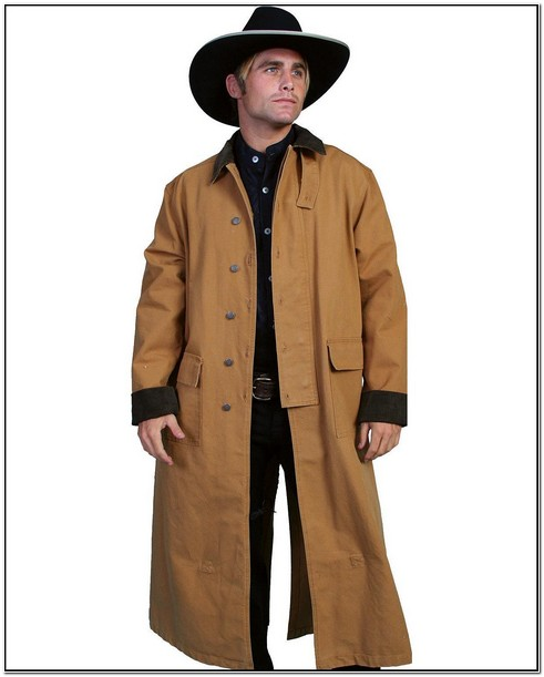 Mens Western Duster Jacket