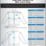 Miller Welding Jacket Sizing