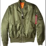 Remove Before Flight Green Bomber Jacket