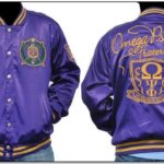 Satin Omega Psi Phi Jacket