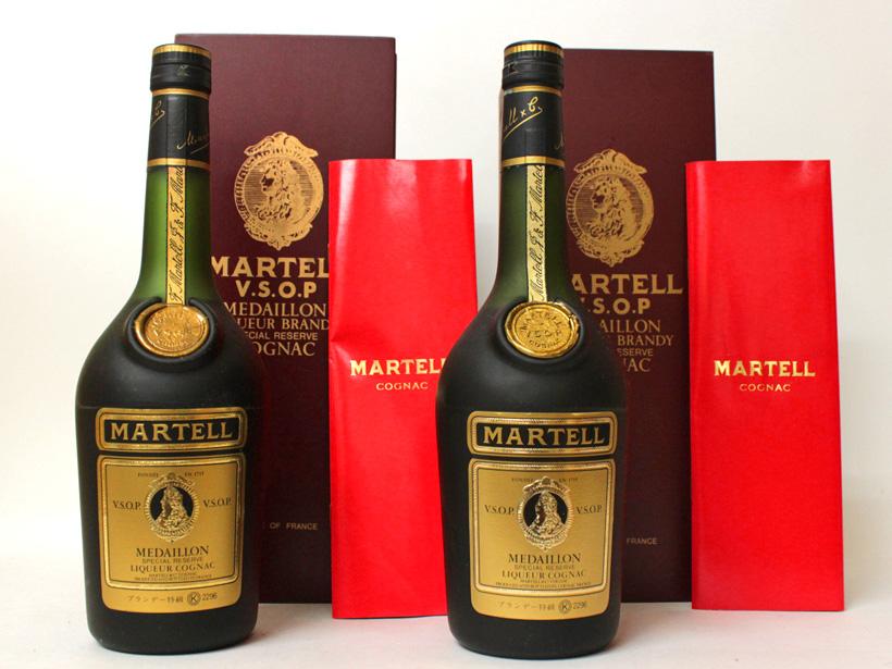 マーテル(MARTELL)・VSOP・メダイヨン・オールドボトル