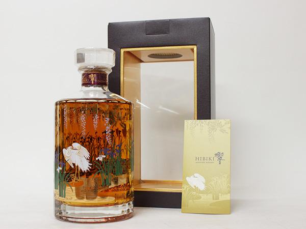 響(HIBIKI)・17年・意匠ボトル2012年・白鷺
