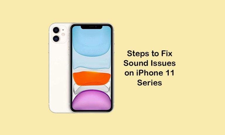 Как исправить проблемы со звуком на iPhone 11, 11 Pro и 11 Pro Max