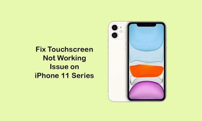 Сенсорный экран не работает на iPhone 11, 11 Pro и 11 Pro Max: как исправить?