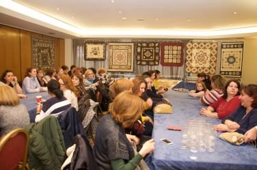 """Presentación nuevo libro """"Patchwork con Sentimiento2"""" Madrid"""