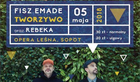 Znalezione obrazy dla zapytania Fisz Emade Tworzywo i Rebeka wystąpią w Operze Leśnej