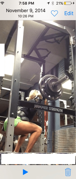 Could barely squat 180x1... Now i can squat 210x1