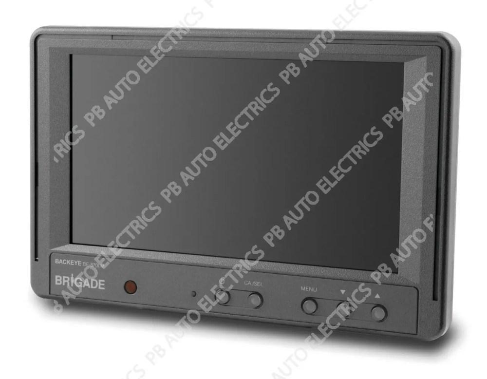medium resolution of brigade be 870lm elite range 7 digital lcd monitor 2705a