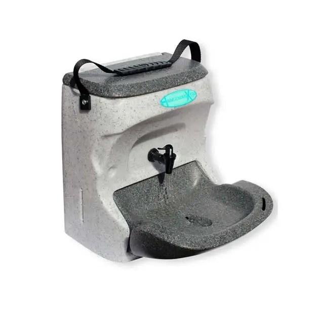 teal handeman xtra portable hand wash sink unit hmxp