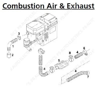 PB Auto Electrics Commercial & Leisure Products Webasto
