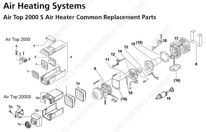 Top 10 Punto Medio Noticias | Webasto Heater Parts Webasto Sg V Wiring Diagram on