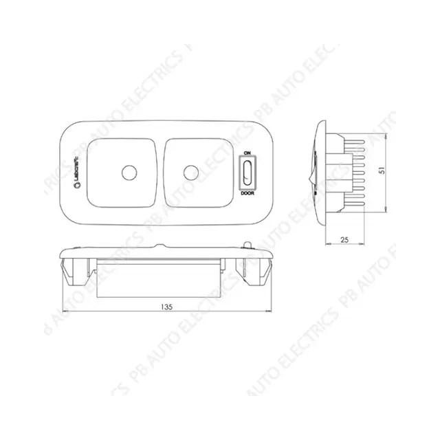 Labcraft VW T5/T6 Transporter CREE LED OEM Direct