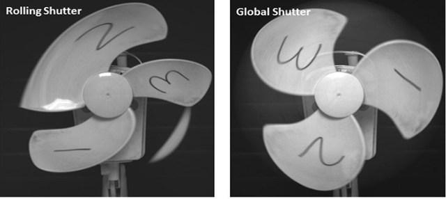 Rolling vs Global Shutter