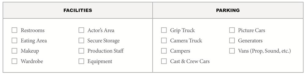 Free Location Fact Sheet Screenshot