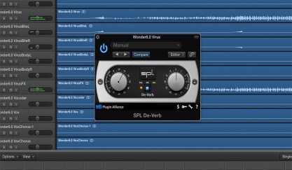 5 Tips for Cleaning Up Audio in Audition: SPL De Verb Plugin