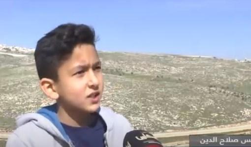 الاحتلال ينكل بطفلين في بلدة حزما بالقدس المحتلة