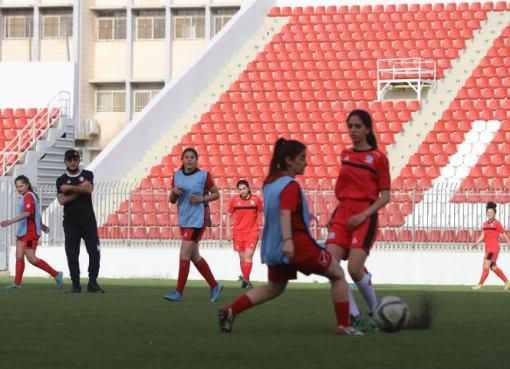 منتخبنا الوطني الأول للسيدات يواصل استعداداته للتصفيات الآسيوية