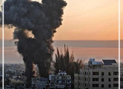 بالفيديو: شاهد لحظة استهداف طائرات الاحتلال الحربية لمنزل لعائلة شبانة في رفح جنوب قطاع غزة