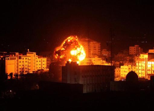 9 شهداء بينهم 3 أطفال في غارة إسرائيلية على بيت حانون شمال قطاع غزة