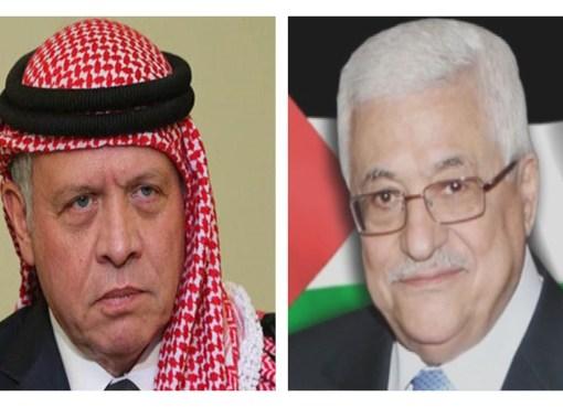 اتصال هاتفي بين الرئيس والعاهل الأردني يبحث التطورات الخطيرة في القدس وقطاع غزة