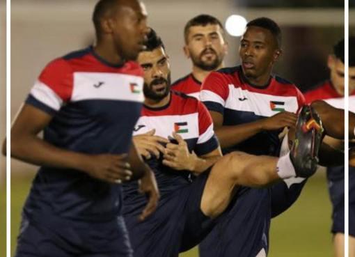 بالصور: منتخبنا الوطني يواصل تدريباته الاستعدادية للمباراة الختامية أمام اليمن في الـ 15 من الشهر الجاري، ضمن التصفيات الاسيوية المزدوجة