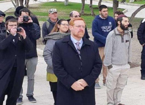 """المتطرف """"غليك"""" يقود اقتحام المستوطنين للمسجد الأقصى"""