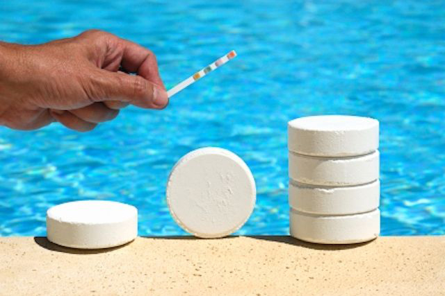 Why do we add chlorine to the pool?