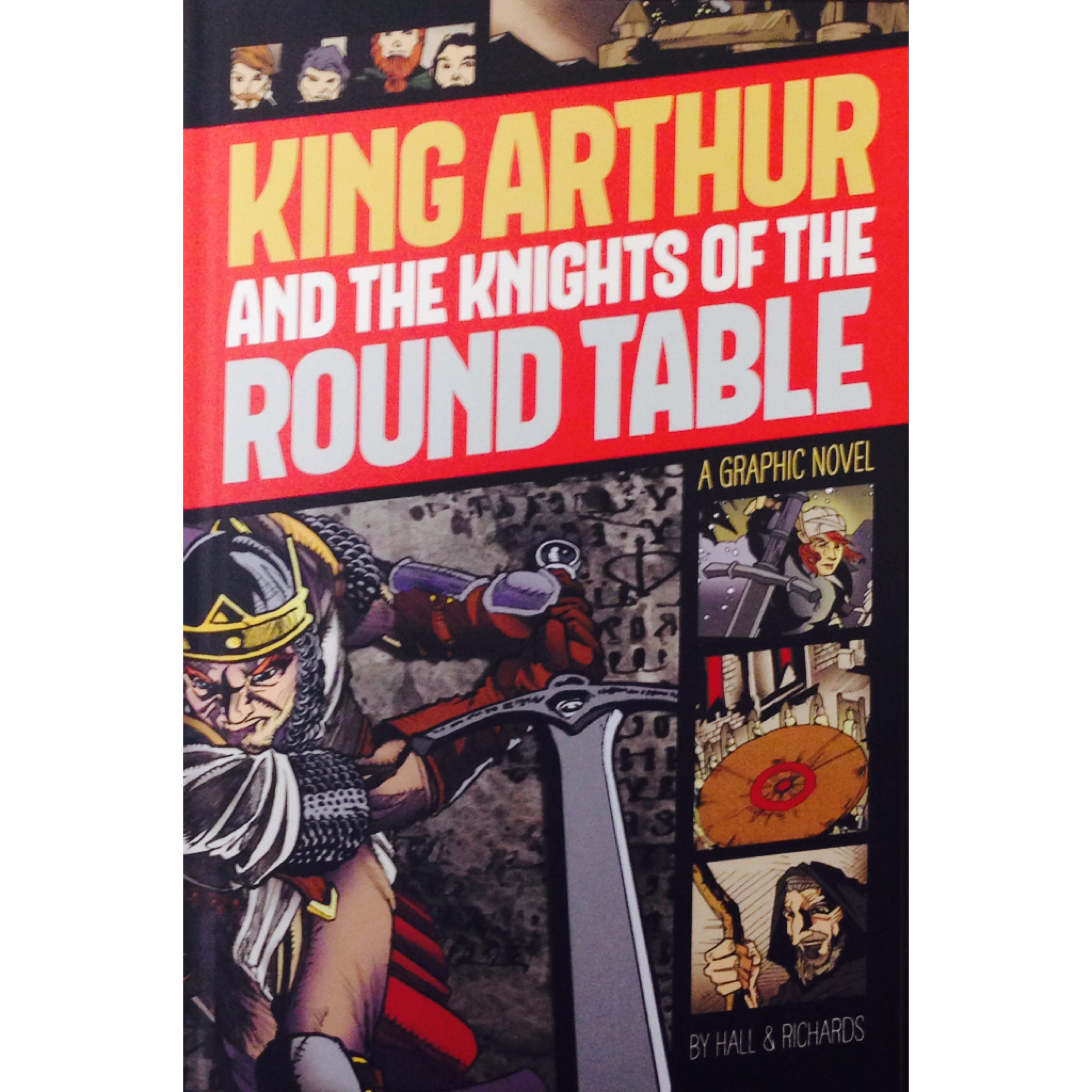 Graphic Novel Library Bound King Arthur And The Knights