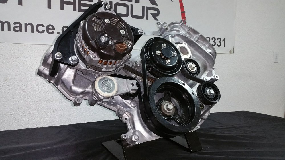 medium resolution of coyote alternator relocation kit power by the hour 3 wire ford alternator wiring coyote ford alternator wiring