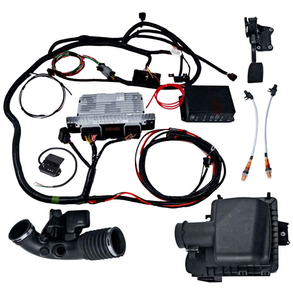 medium resolution of gen 1 2011 14 5 0l coyote manual transmission control pack power ford 5 0 swap wiring harness