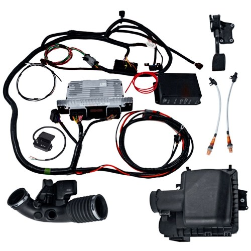 small resolution of gen 1 2011 14 5 0l coyote manual transmission control pack power ford 5 0 swap wiring harness