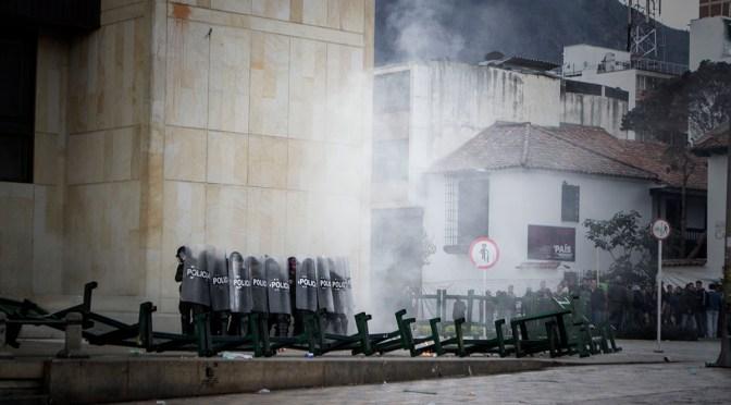 Criminalisation of social protest