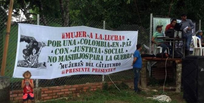 The campesino struggle in Catatumbo