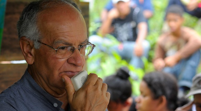Raising awareness and reporting human rights violations: Padre Javier Giraldo